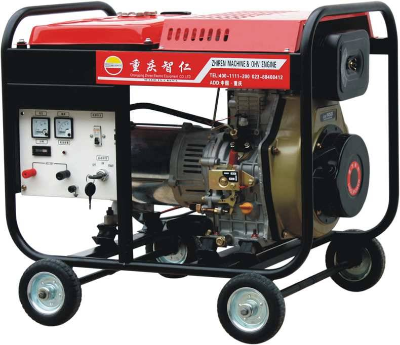 5KW Three Phase Rare Earth Permanent Magnetic Diesel Genset