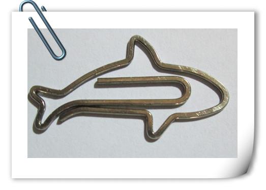 Custom logo metal paper clip