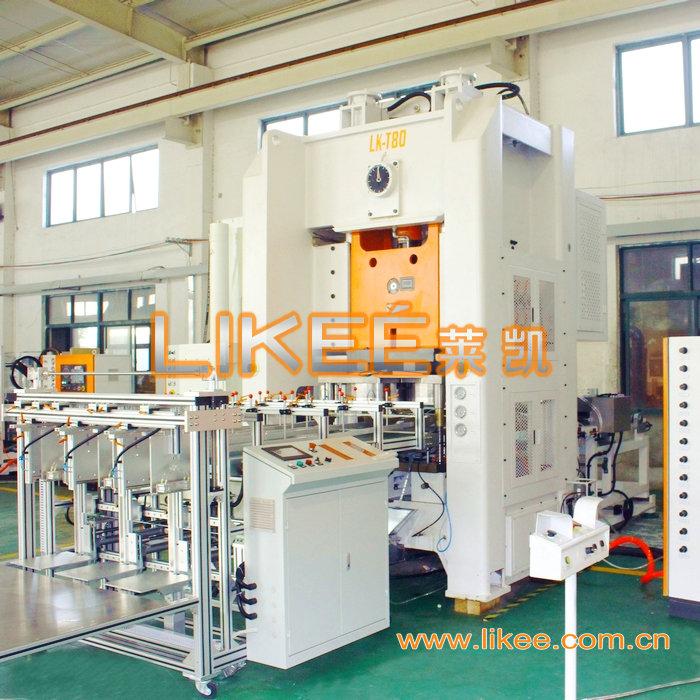 Disposable aluminium foil dishes machine LK-T80