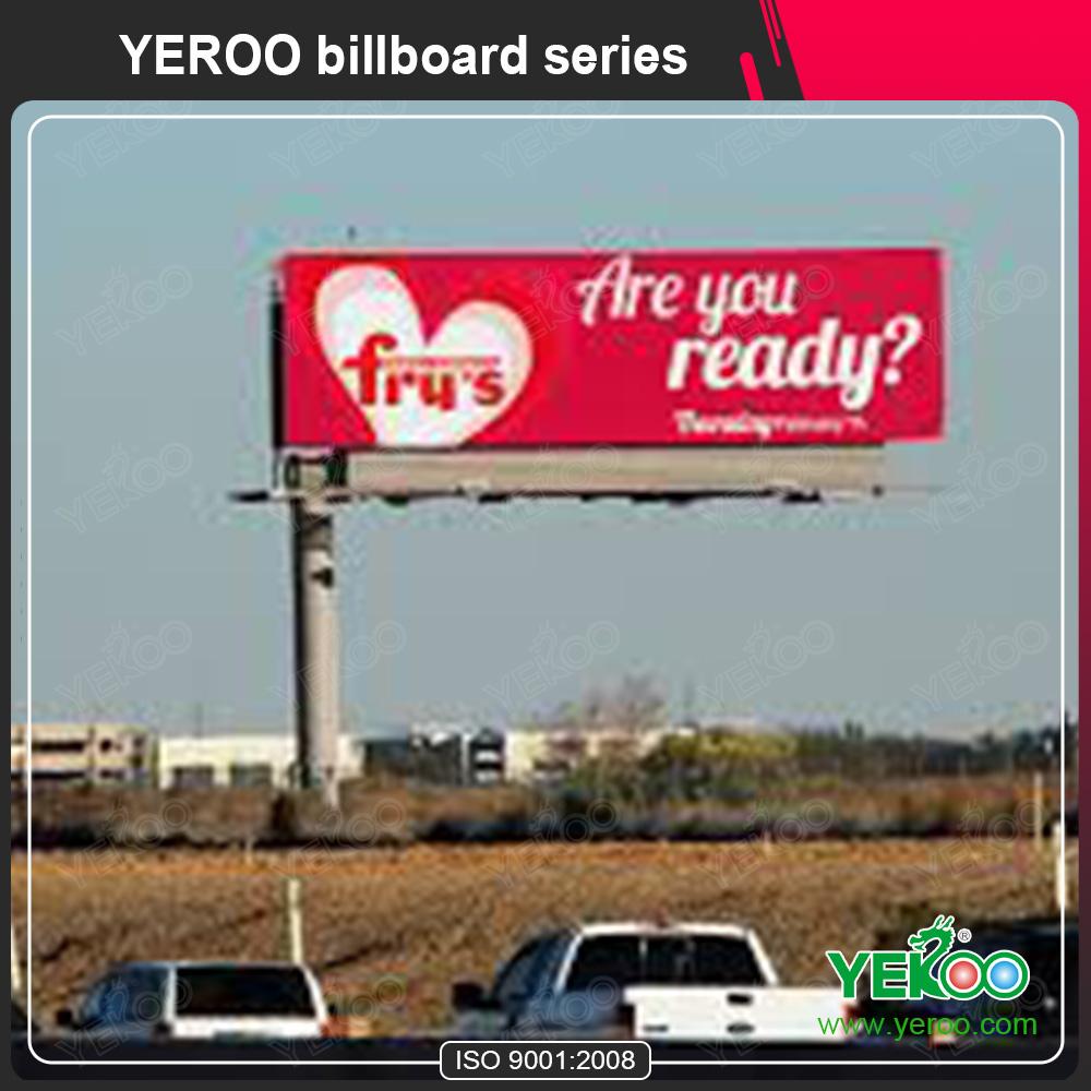 Outdoor hording lighting unipole/advertising billboard