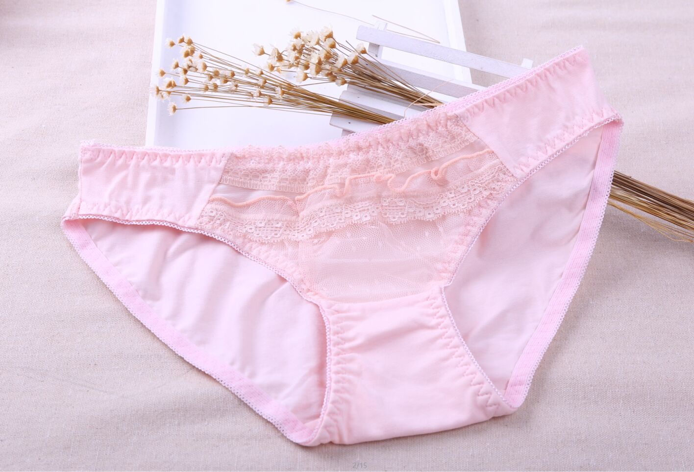 Hot sale women comfortable lady cotton underwear lace panties sexy g-string sexy lingerie