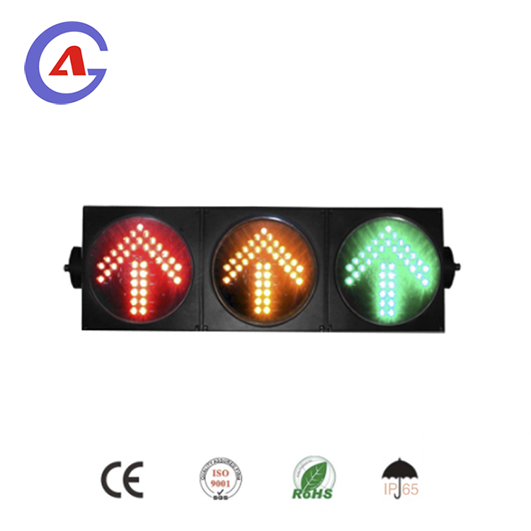 200mm led traffic signal light driveway arrow signal light