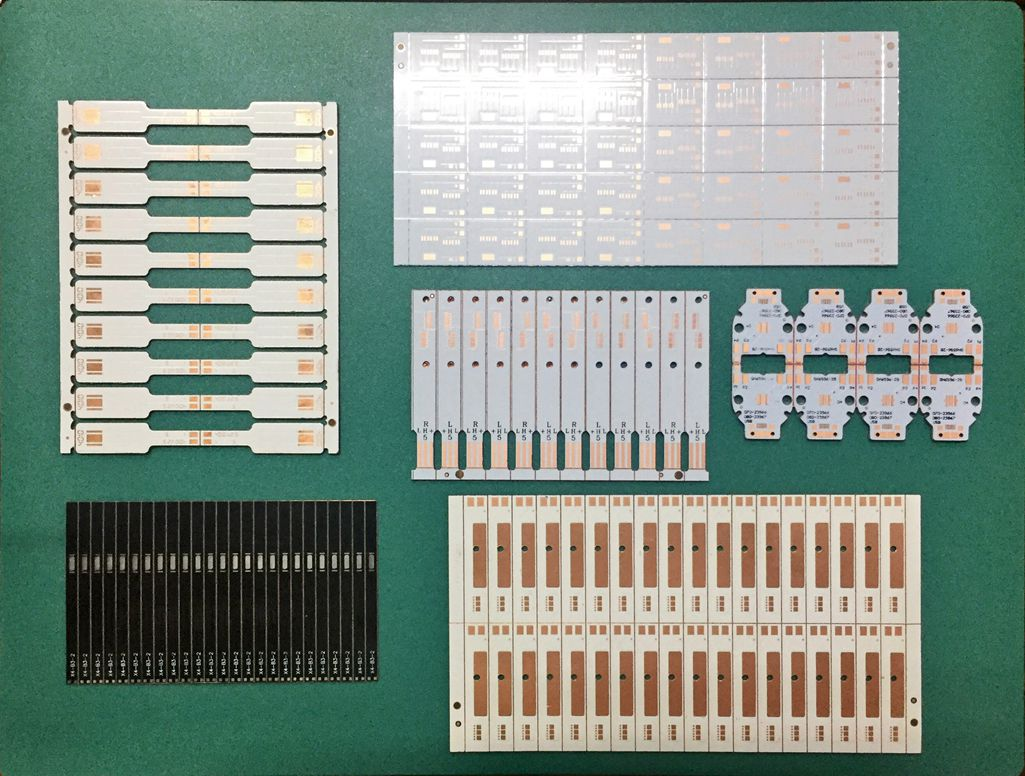 Fast High thermal conductivity heat dissipation 400W PCB Thermoelectric separation copper substrate