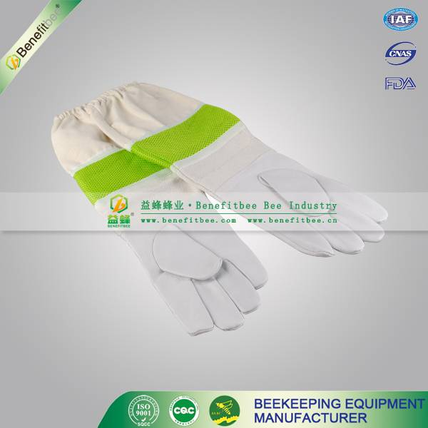 beekeeper safety gloves long leather bee protective gloves for apiculture