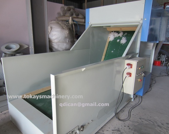 Bale breaker machine fiber bale opening machine