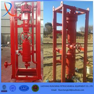 API standard well control sand cyclone desander for gasfield use