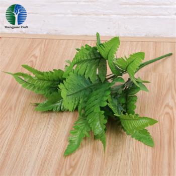 Green wall 7 branch artificial Persian fern foliage bunch