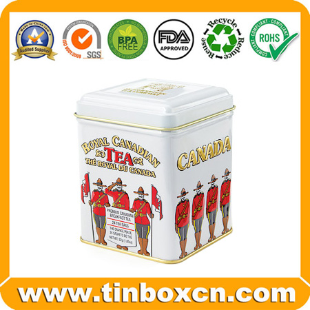 Tea Tin,Tea Box,Tea Caddy,Tin Tea Can,Tin Tea Box