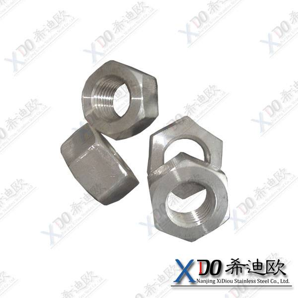 duplex 2507 China hardware heavy hex nut  ASME B 18.2.2