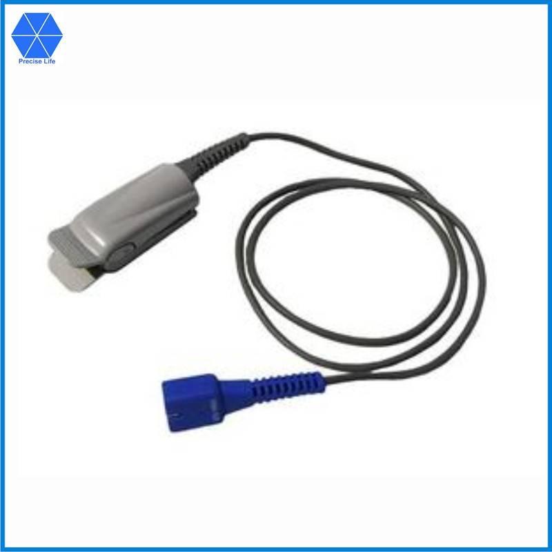 Compatible Nellcor DS-100A SpO2 sensor,adult finger clip,Oximax,DB9pin,1meter