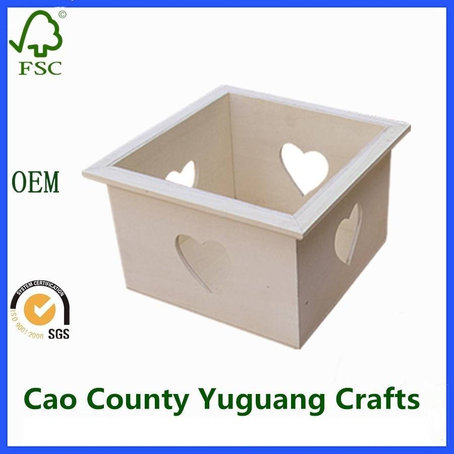 Home Storage Gift Paulownia Wooden Crates