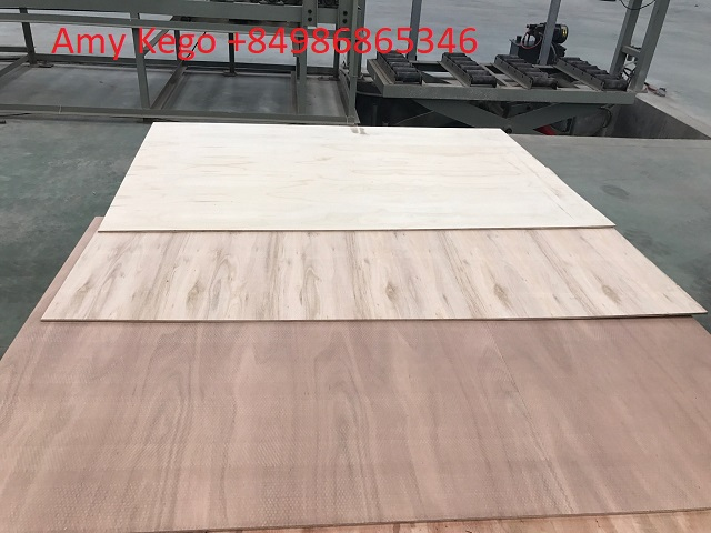 Flooring Plywood 7mm 5 Plies 100% Eucalyptus for Export
