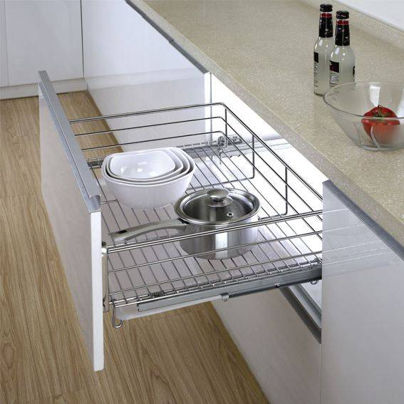 Three-lateral Kitchen Drawer Basket:170001718