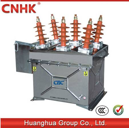 ZW8-12 outdoor vacuum circuit breaker recloser with control 11kv 12kv sectionalizer