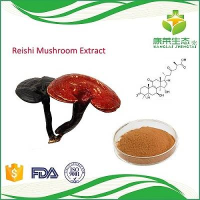 Reishi Mushroom Extract Powder with 30% Polysaccharide Fruit Body and Mycelium