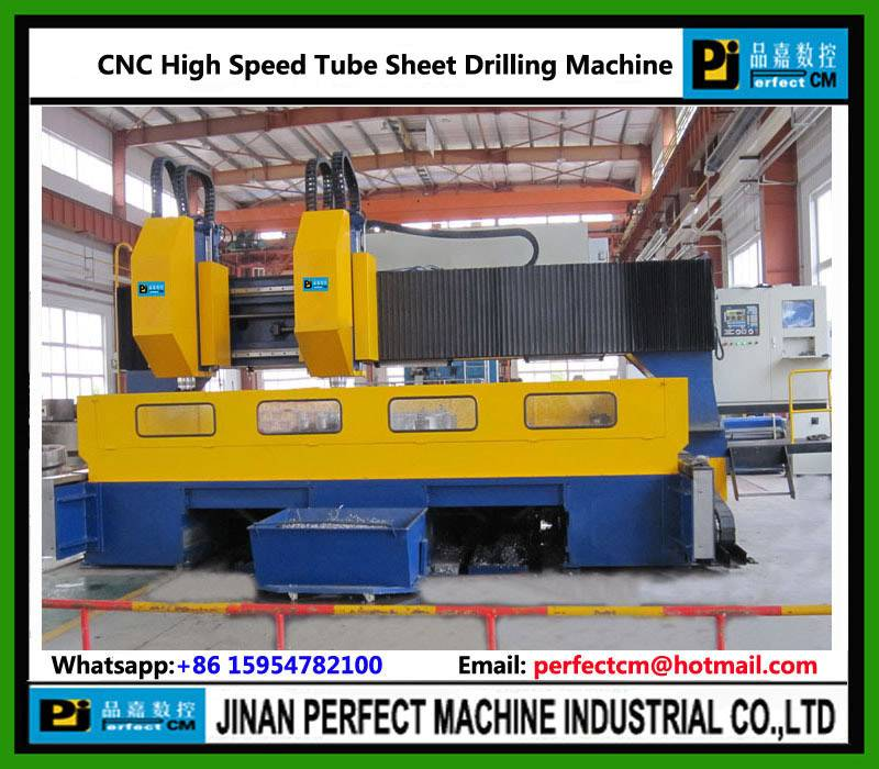 Heat Exchanger/Pressure Vessel CNC Drilling Machine for Tube Sheet