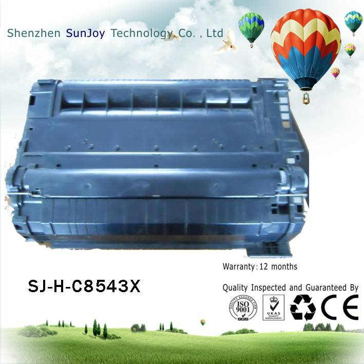 Sunjoy 43X toner cartridge C8543X compatible for HPLJ9000 9050 9050N 9050DN