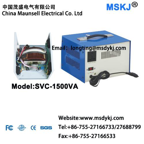 Automatic voltage regulator SVC-1500VA