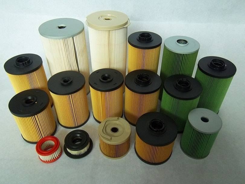 Engineering machine oil filters