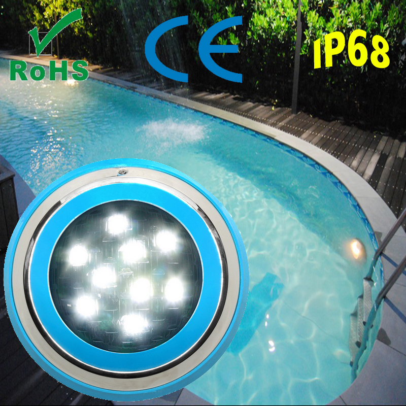 Factory price 12 Volt 6-12 watt IP68 LED Pool Light RGB