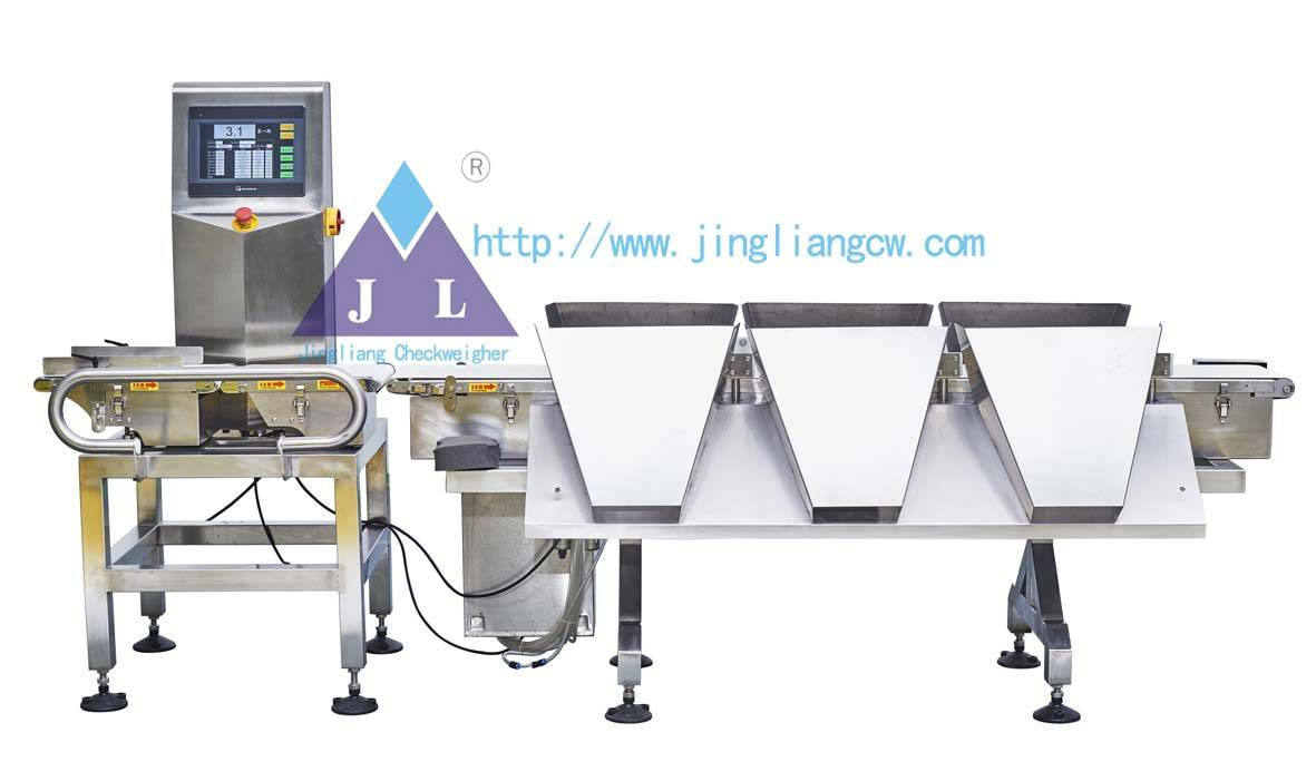 Automatic weighing sorting instrument checkweigher JLCW-1000-6D