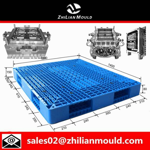 Taizhou double faced plastic pallet injection mould