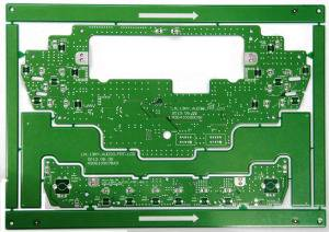 Green Solder Mask 2 Layers Auto Board PCB with HASL Treatment