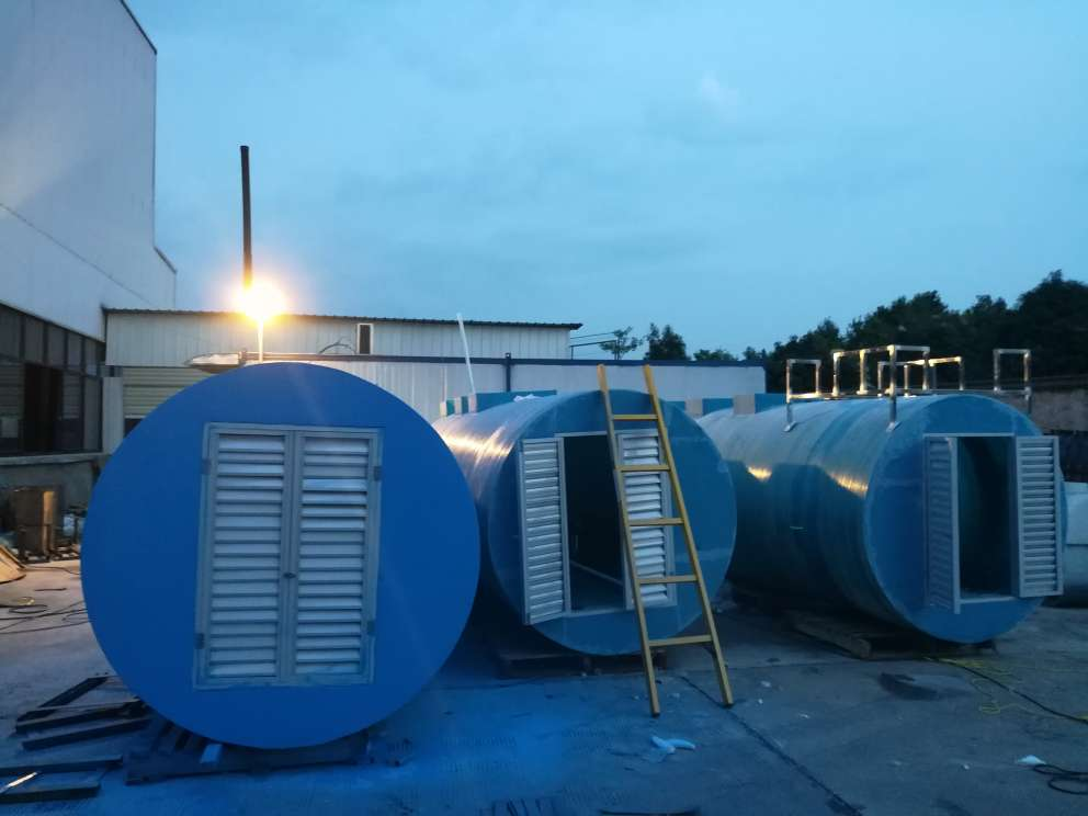 Fat Oil and Grease(FOG) Dissolved air flotation wastewater treatment plant Made in china