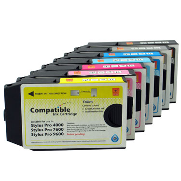 Compatible Wide Format Inkjet Cartridge for EPSON Pro 4000/ 7600