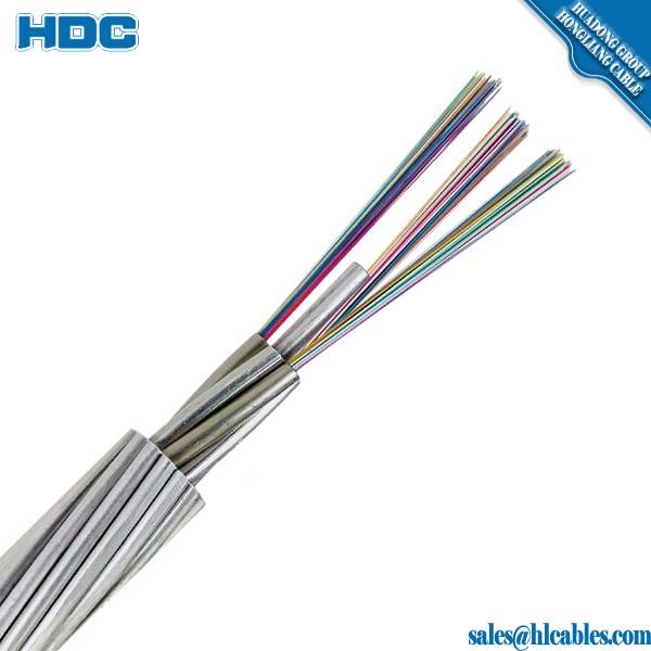 aerial outdoor non-metallic G652D adss 24 core fiber optic cable