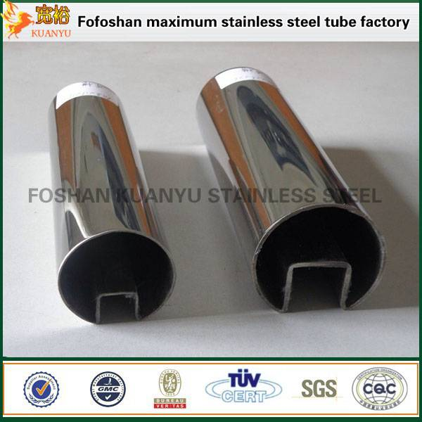 grade 316 customized stainless steel slotted channel tube fabricators