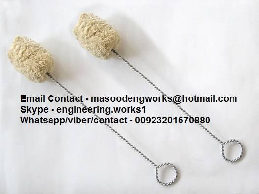 Cotton Swab Brush Open Handle