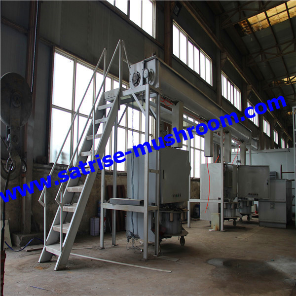 New design shiitake mushroom bag filling machine for mushroom factory
