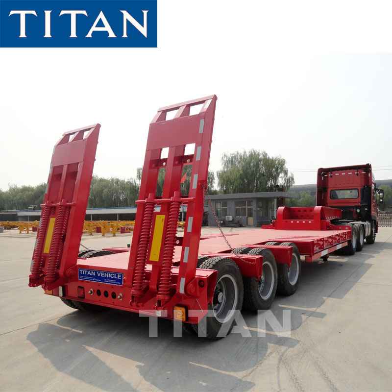 60T Low Loader Trailer for Sale in Zambia