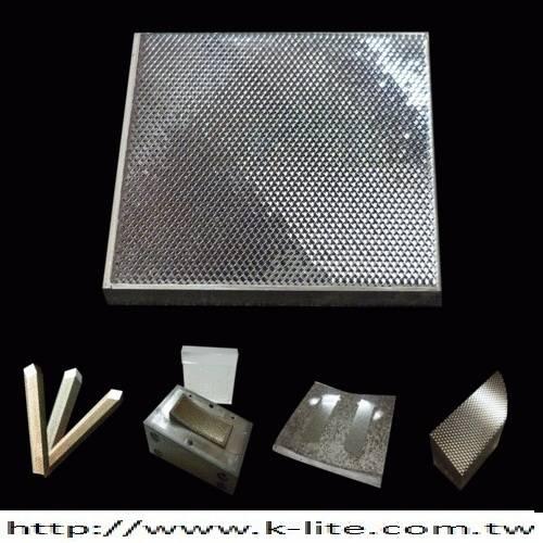 Reflex,Electroform,Mould,Flat Reflex Reflector.