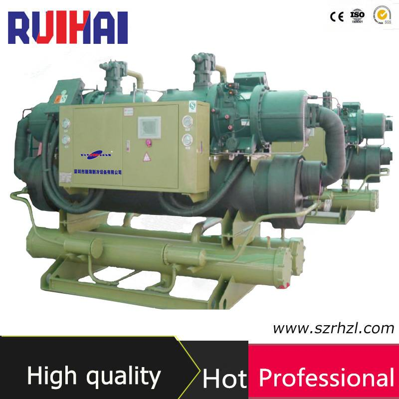 216kw Industrial Water Cooled Screw Water Chiller