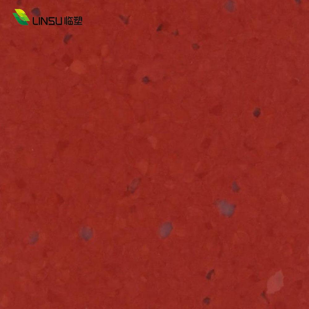 Hospitals Antibacterial Homogeneous Vinyl conductive Flooring For medical