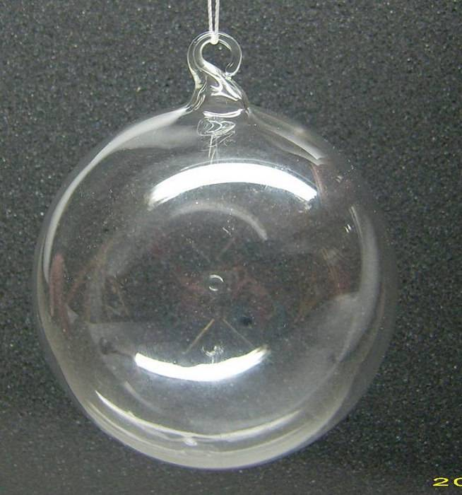 wholesale clear ornament glass Christmas balls