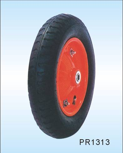 eco-friendly pneumatic  wheelbarrow tireand hand truck wheel  13*3.25-8