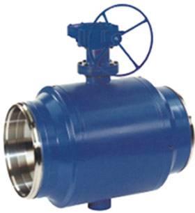 fully weld ball valve