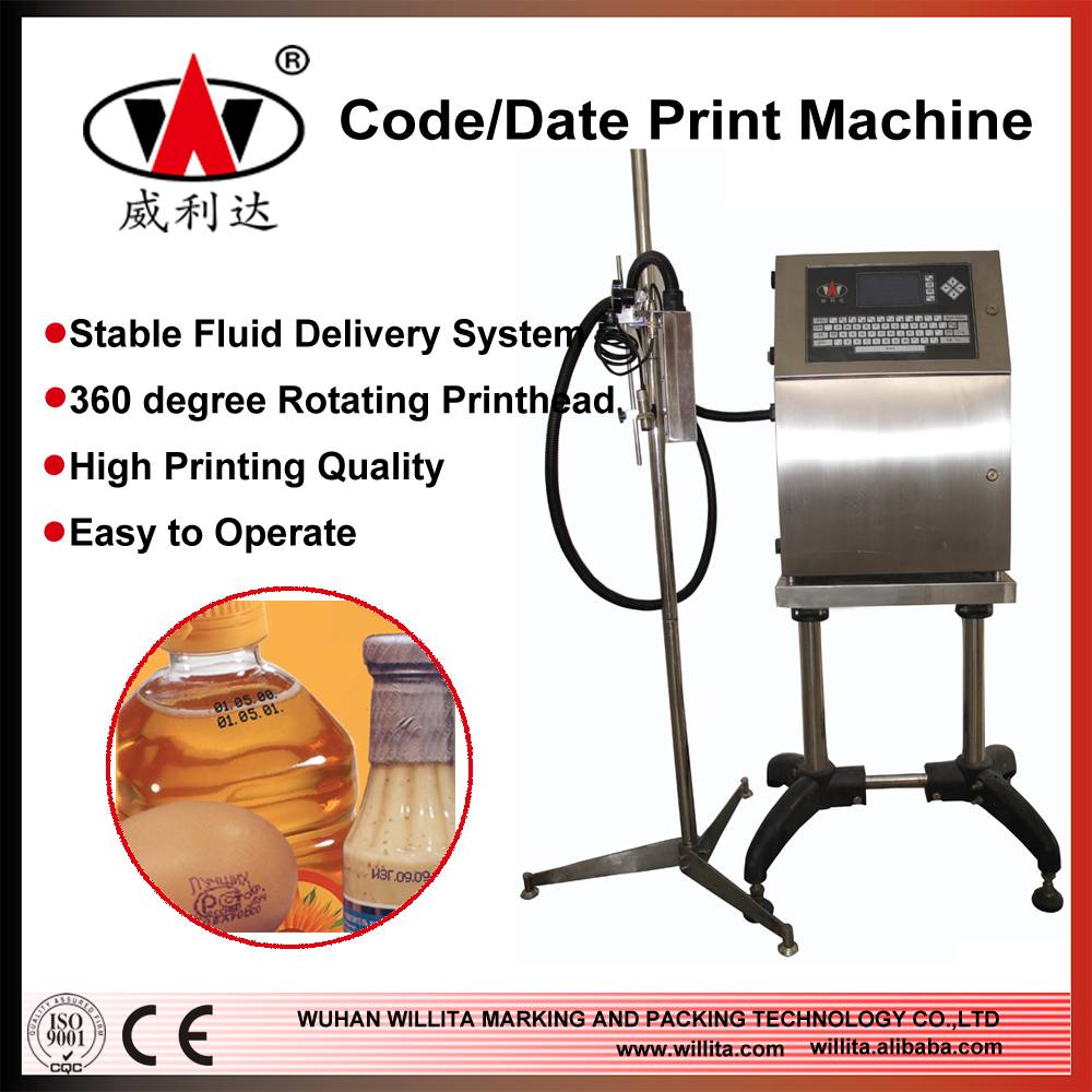 WLD-280P Automatic Expiry Date Code Industrial Printer