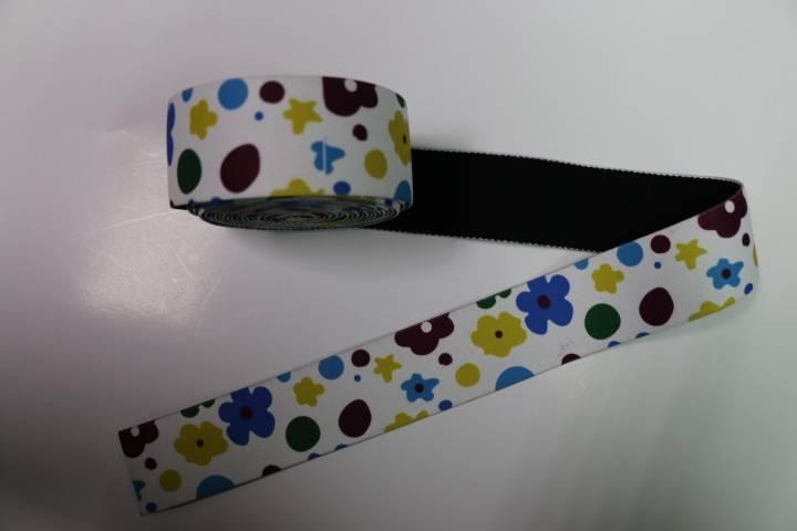 customized soft nylon jacquard elastic woven webbing for sale