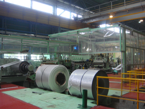 Metal cleaning line