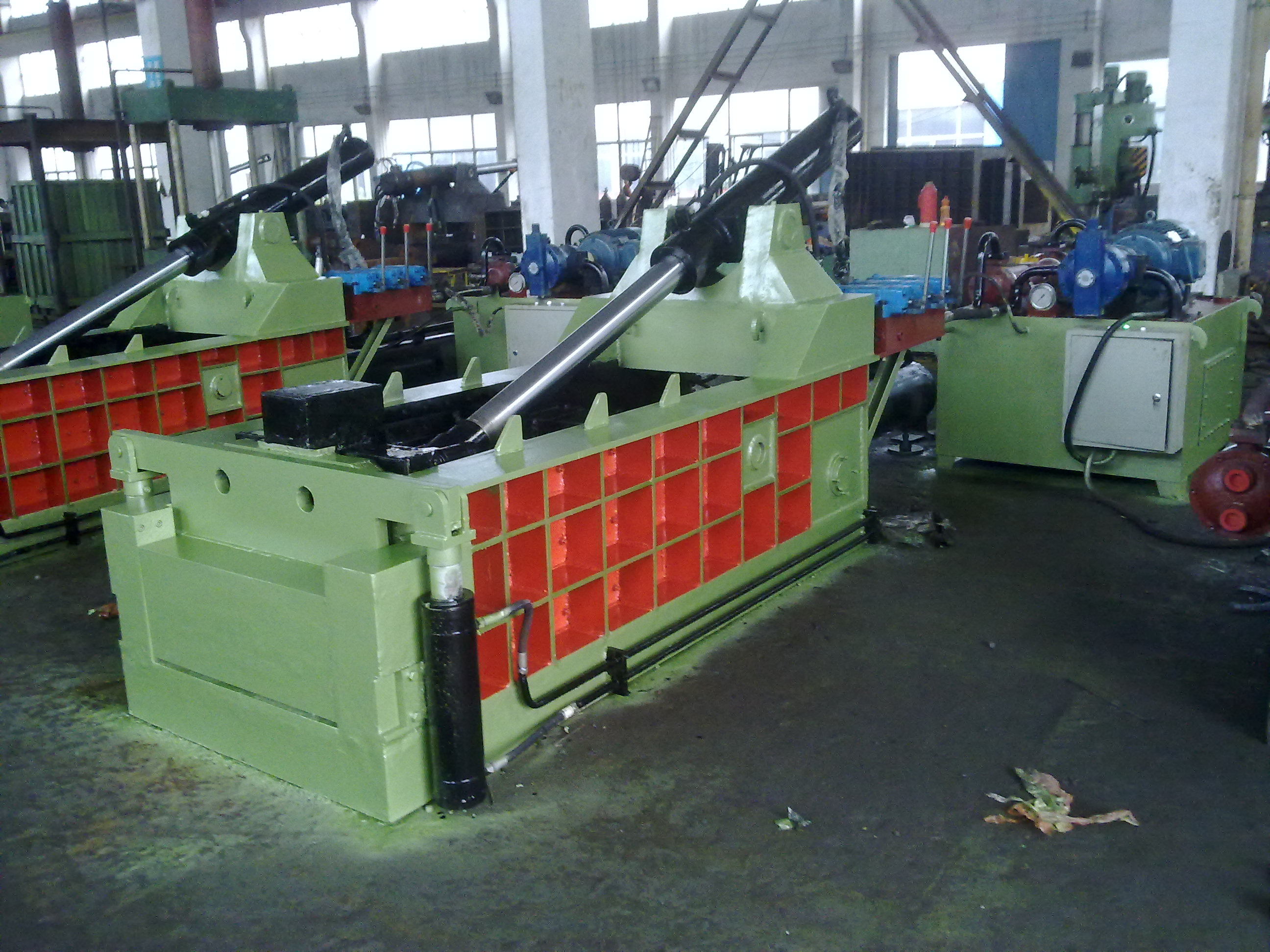 Forward out Metal scraps Baling Press Machine with CE