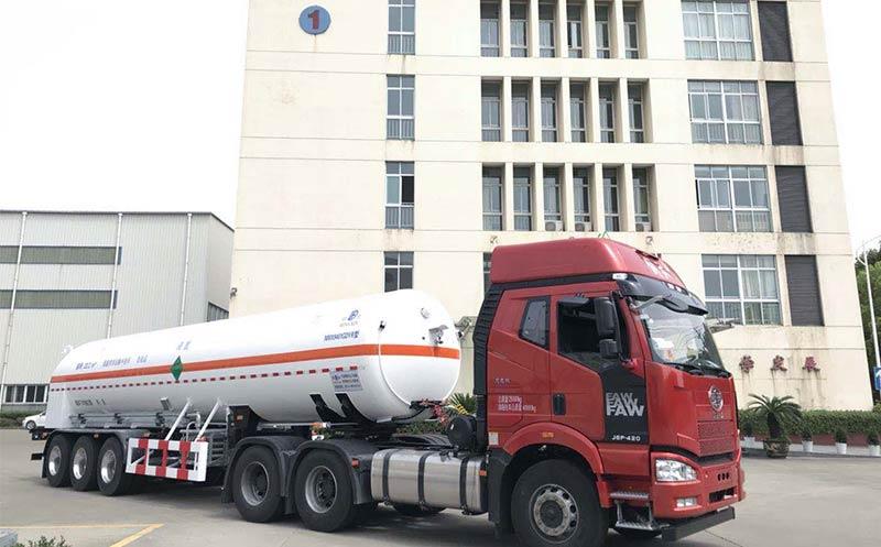 LCO2 Semi-trailer