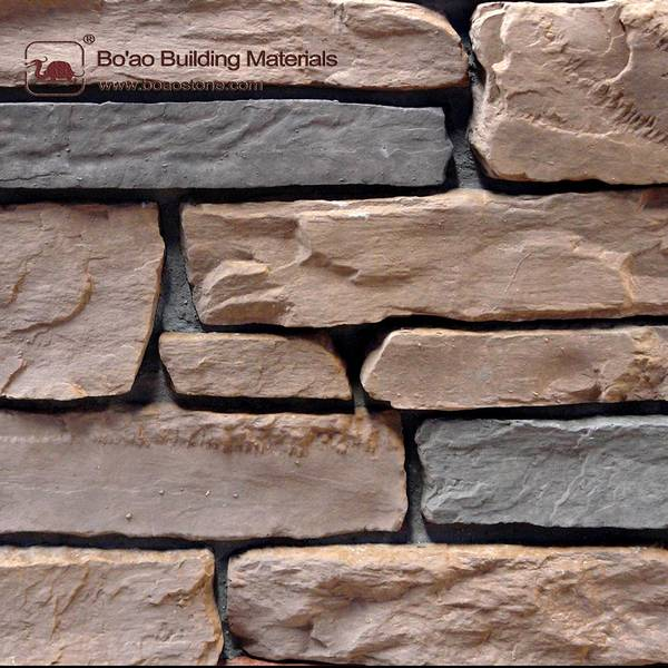 Manufactured stone for home depot wall decoration