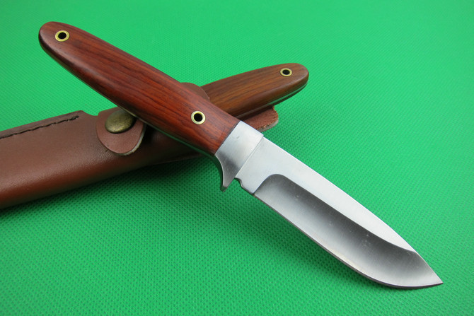 Camping Knife Wood Handle Outdoor  Knife