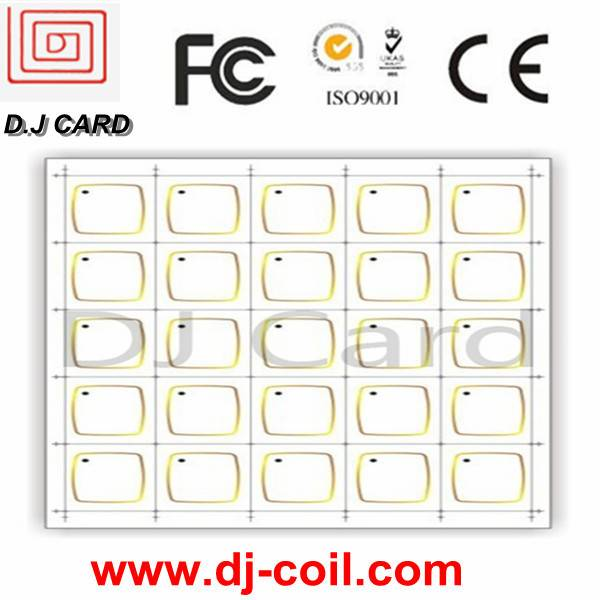 13.56MHZ RFID Card inlay for card making