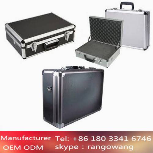 18''X13''X6'' Aluminum Advanced Hand-making Case with Compartment and Tool Plate