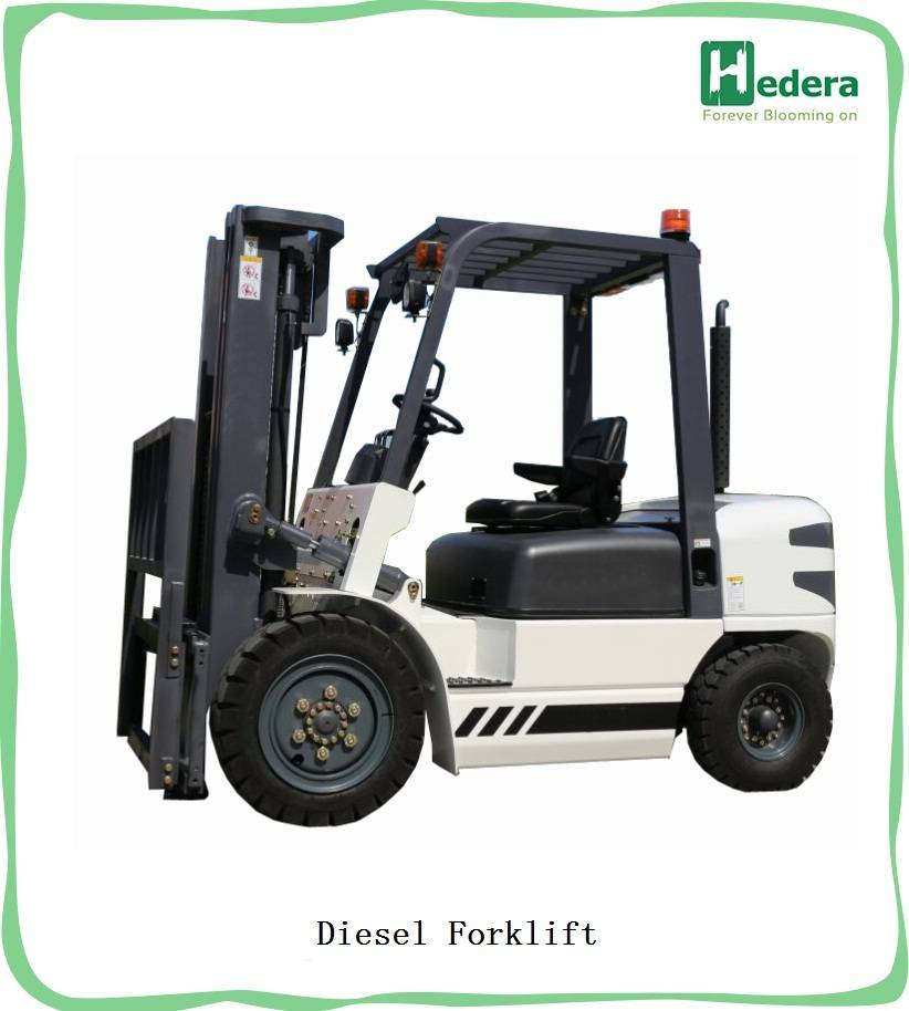 China best selling fork lift truck diesel forklift 3 ton price